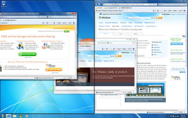 Windows 7 presenta Windows Touch