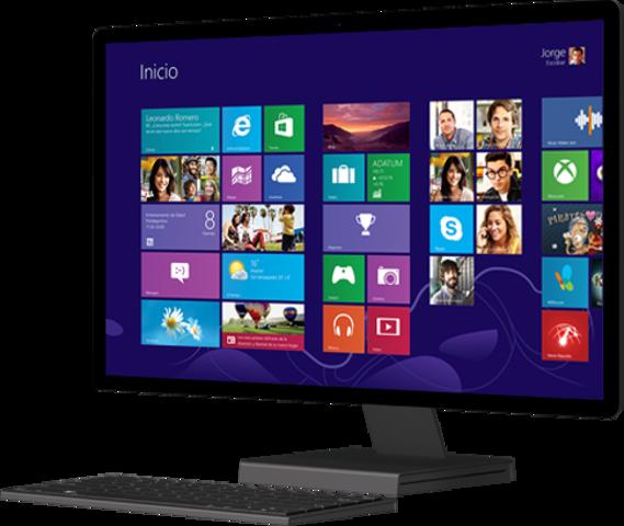 Windows 8 presenta aplicaciones y mosaicos