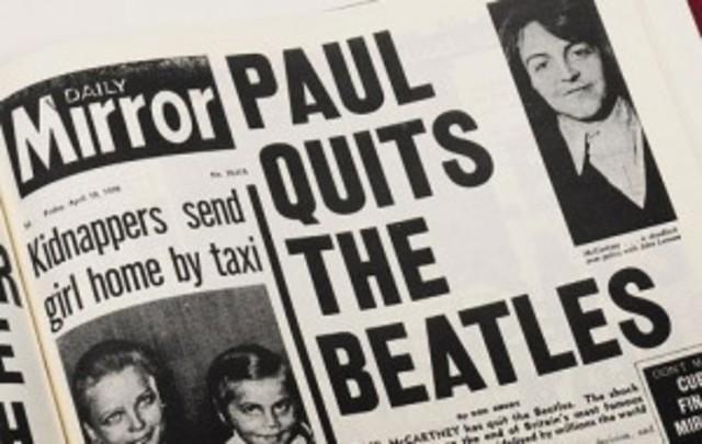 Beatles Break-up