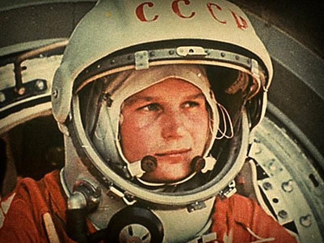 Yuri Gagarin, primer ser humano en el espacio
