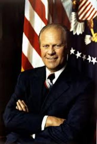 Gerald Ford, presidente de Estados Unidos