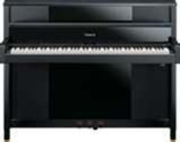 My 1st piano lesson.