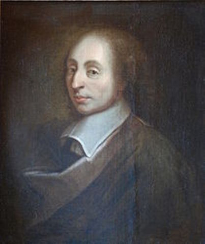 Blaise Pascal(polímata, matemático, físico, filósofo cristiano y escritor francés)