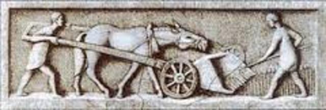 LOS ROMANOS 500 d.c