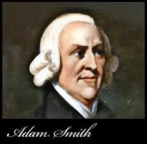 Adam Smith:  (1723 d.C-1780 d.C.)