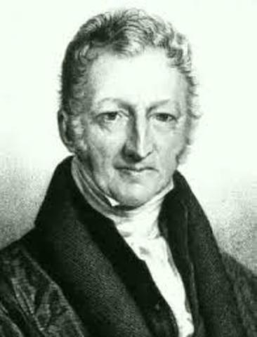 Thomas R. Malthus: ( 1766 d.C. – 1834 d.C.)