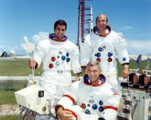 Last manned mission to the moon