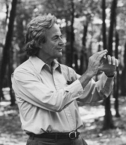 Richard Feyman ( Contribuciones de la mecánica cuantica)