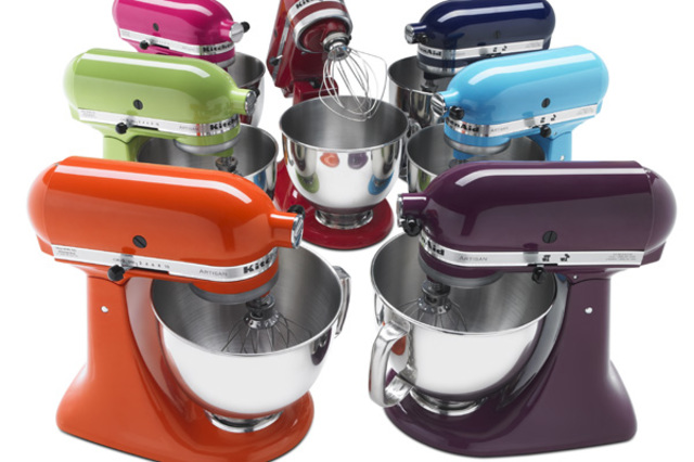 Colorful Stand Mixers