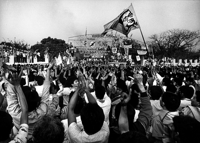 ''Power power''revolution in the Philippines.