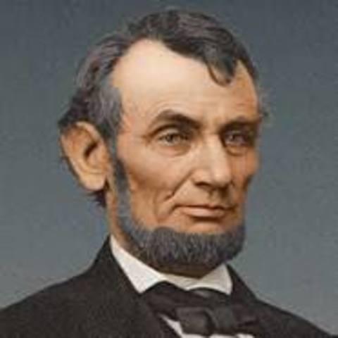 Lincoln Greets Citizens