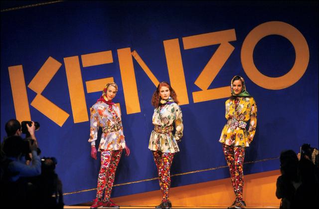 Kenzo : world fashoin et flower power