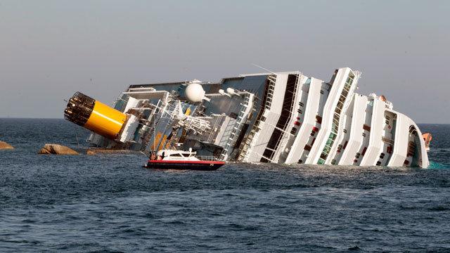 Italian Ship Sinks