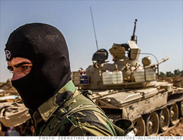 Isis invades Livya