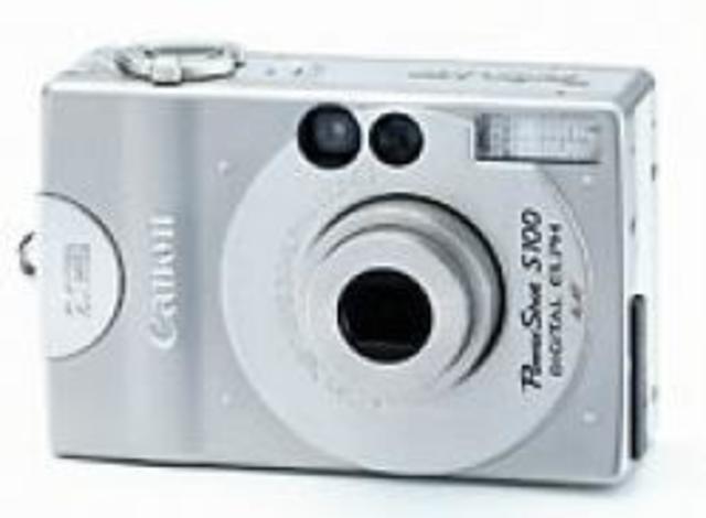 Canon Digital Elph S100