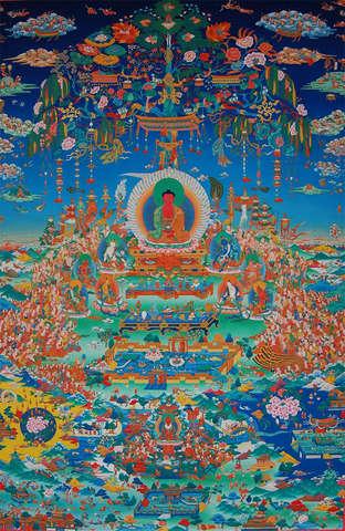 """1175- Появление буддийской школы Дзёдо - """"Чистой земли""""(浄土宗)"""
