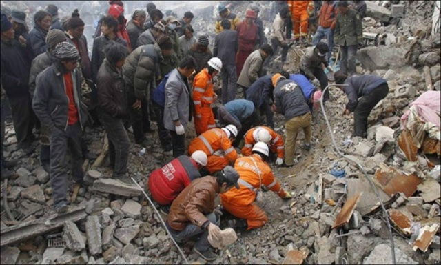 Terratrèmol a Quinghai (Xina)