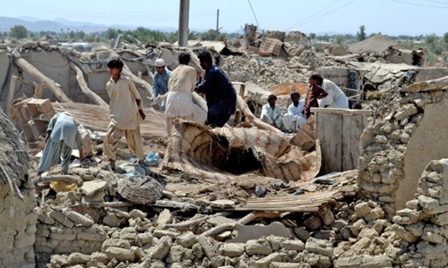 Terratrèmol a Baluchistan (Pakistan)