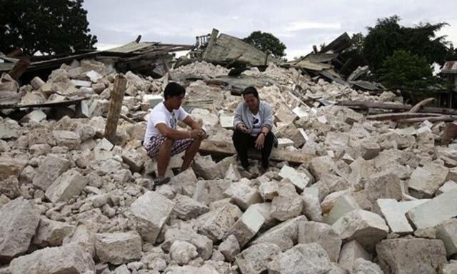 Terratrèmol a Les Filipines
