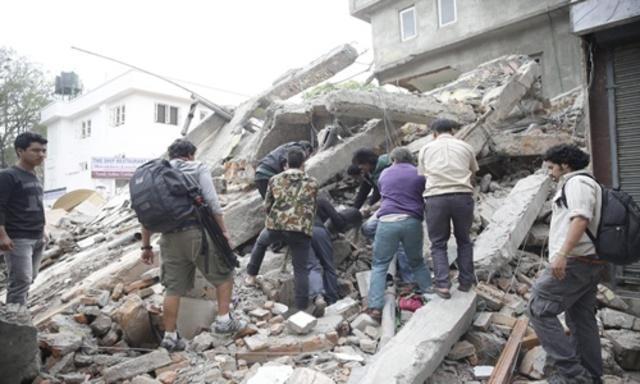 Terratrèmol a Nepal