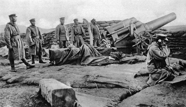 Япония присоединяется к союзникам во время Первой мировой