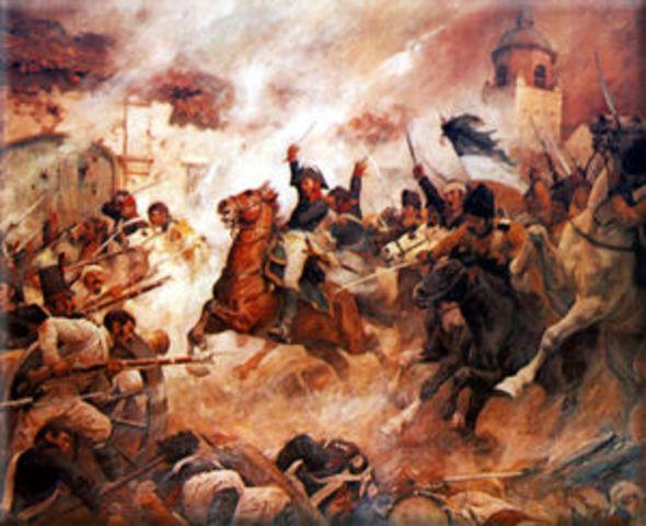 Inicio de la reconquista española en Colombia