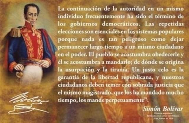 Bolivar instala Congreso de Angostura