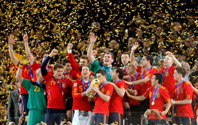 España gana su primer mundial