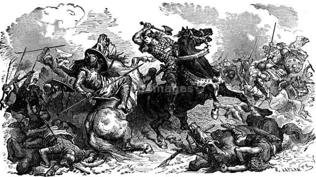 FRANCE: Battle of Tours, Charles Martel