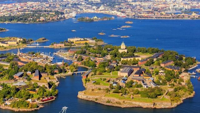 Lundi matin - A monday morning in Helsinki