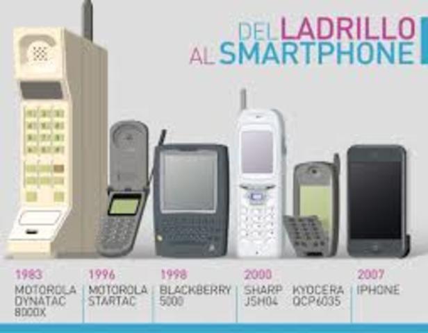 Primera generación del teléfono celular.