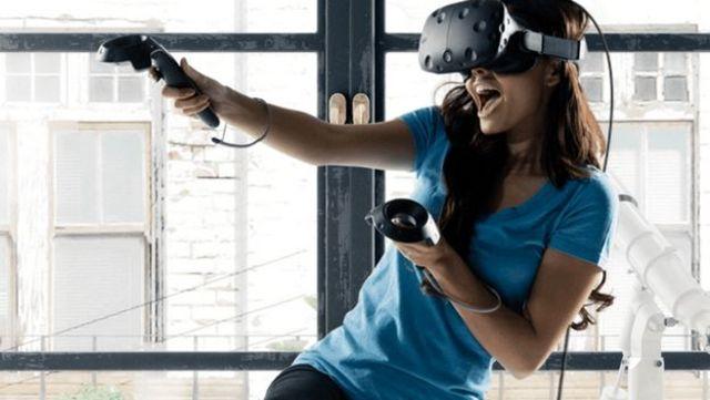 Las gafas de realidad virtual de HTC
