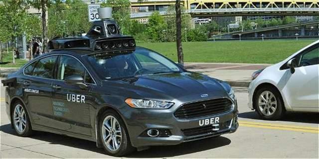 Uber carro autonomo