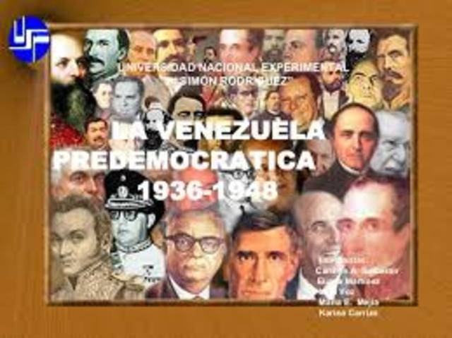 VENEZUELA ENTRE 1935 Y 1958