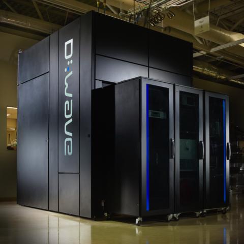Prototipo de computadora cuántica