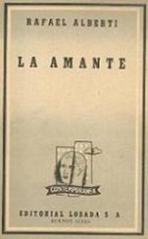 """Publicación de """"La Amante"""""""