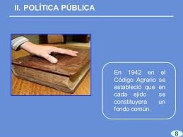 Código Agrario de Manuel Ávila Camacho