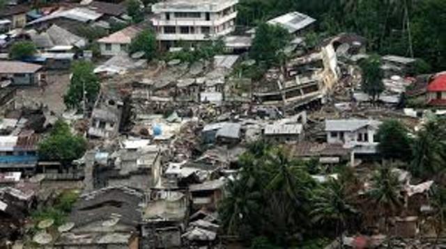 Indonesia  al nort de Sumatra