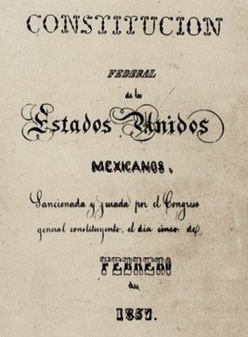 Constitución Política de de 1857