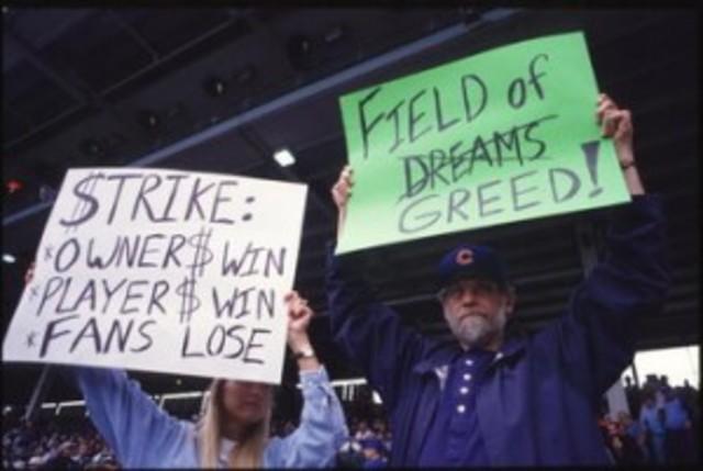 Major League Baseball Strike