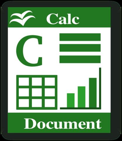 CALC: HOJA DE CALCULO