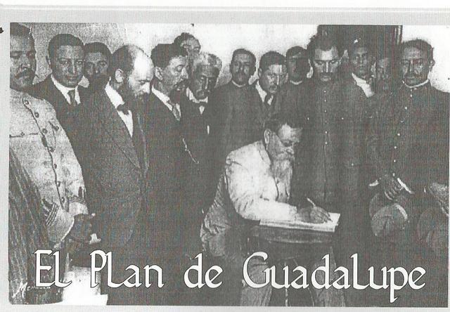 ADICIONES AL PLAN DE GUADALUPE