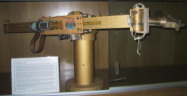 Primeiro Braco mecanico