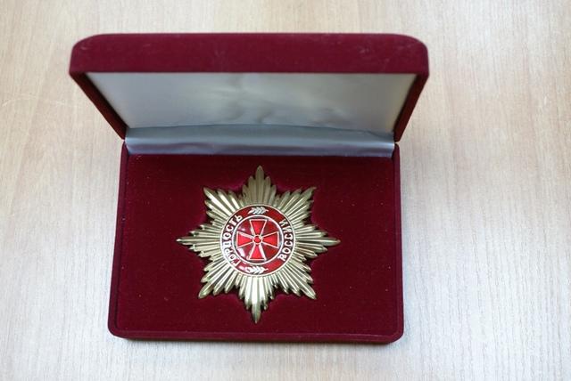 М. А. Шолохов- кавалер ордена Славы