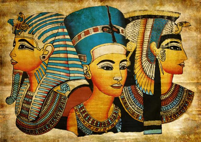 Egipcios y la Administración