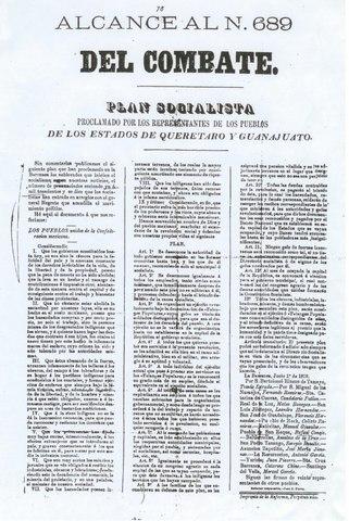 PLAN SOCIALISTA DE SIERRA GORDA