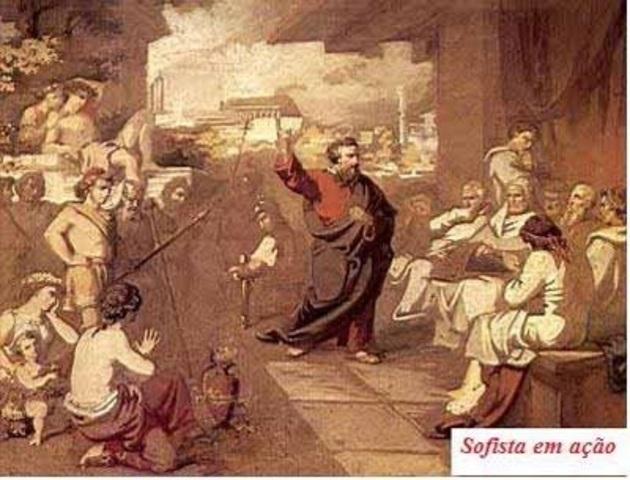 Siglo V a.C- Sofistas Griegos