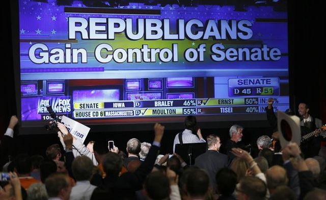 Los republicanos se hacen con el poder en EE. UU.