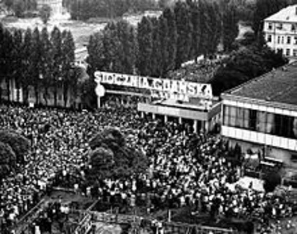 Frecuentes revueltas en Polonia