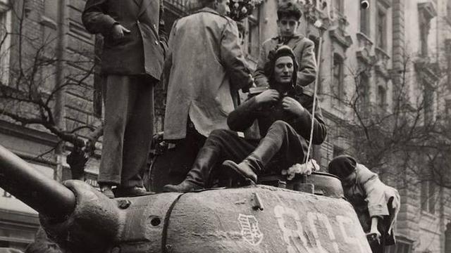 La revuelta de Hungría